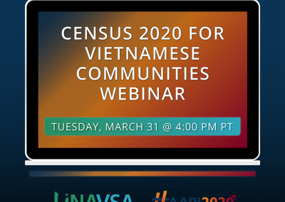 Census 2020 for Vietnamese Communities