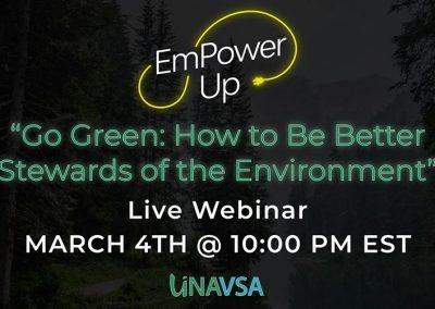 EmPower Up: Go Green!
